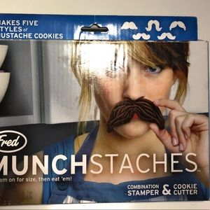 Mustache cookie cutters and stampers 5 crafty art